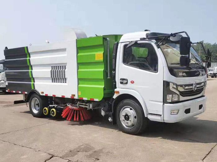 东风D7洗扫车 道路洗扫车 环卫清扫车 多利卡扫路车 小型洗扫车