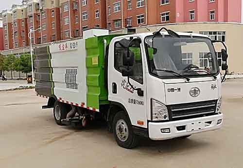 虹宇牌HYS5072TXCC5型吸尘车