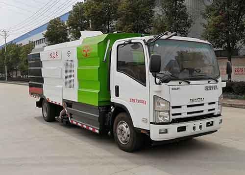 虹宇牌HYS5073TXCQ5型吸尘车
